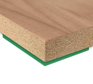 Protipožární deska dýhovaná okrasnou dýhou nebo laminovaná FIREPLAC® A2