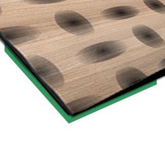 europlacEDELHOLZ Formenhybrid dýhovaný 3D povrch INDEWO®